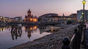 Cardiff Bay Pier Head Building